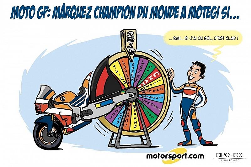 L'humeur de Cirebox - Márquez, la chance du (futur) Champion?