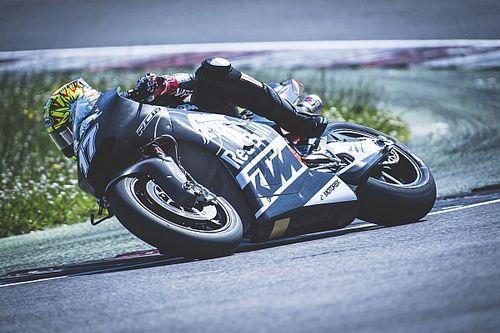 Abraham tests KTM MotoGP bike at Misano