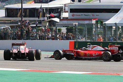 Vettel apologises to Raikkonen for Turn 1 crash at Spa