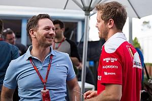 Хорнер опроверг слухи о возвращении Феттеля в Red Bull. И намекнул на продление контракта с Гасли
