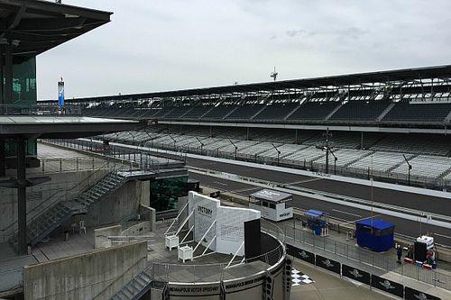 Indy 500: Dienstagstraining fällt ins Wasser