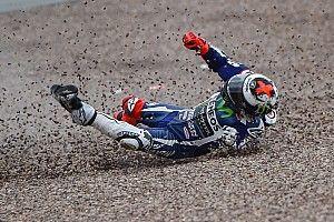 FP1 MotoGP Jerman: Lorenzo terhindar dari cedera