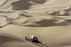 其他拉力赛 比赛报告 丝绸之路拉力赛首迎沙漠赛段考验  标致包揽前三