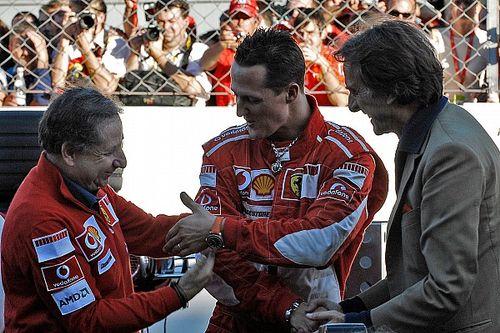 "Montezemolo: ""El ADN de Schumacher está en Ferrari"""