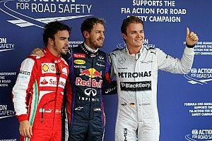 Las últimas diez poles del GP de Brasil de F1