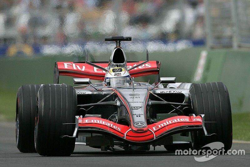 Galería: los coches McLaren-Mercedes en F1