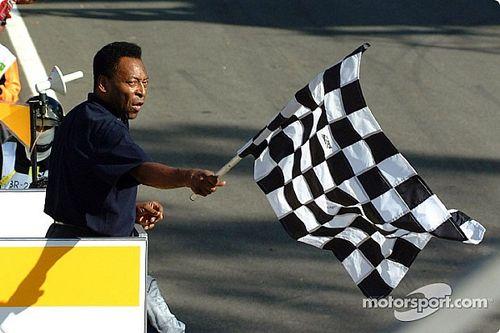 Ma 18 éve, hogy Pelé lekésett a Brazil Nagydíj leintésével