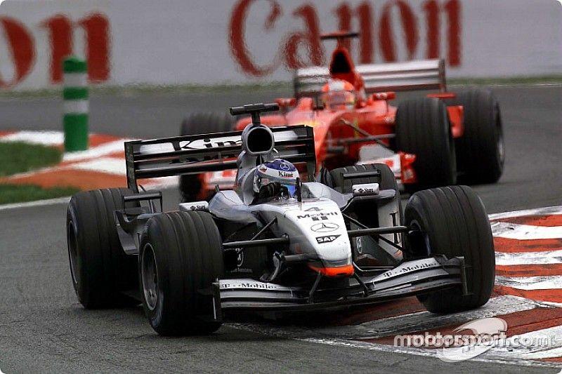 Schumacher drámai előzése Räikkönen ellen: videó