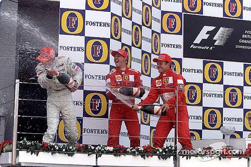 Все победители и призеры Гран При Великобритании с 2000 года