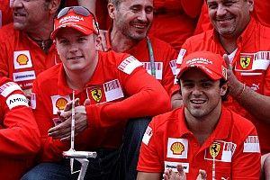 VÍDEO: Massa relembra 'zoação' de Raikkonen com Schumacher em festa da Ferrari