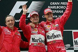"""Barrichello se emociona ao reencontrar Mick Schumacher em Mônaco: """"Especial"""""""