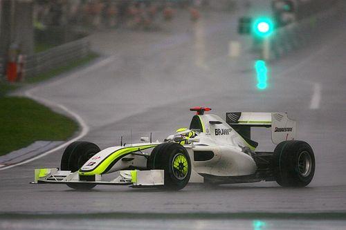 Formule 1-retro: De dag dat Jenson Button op de grid zegevierde