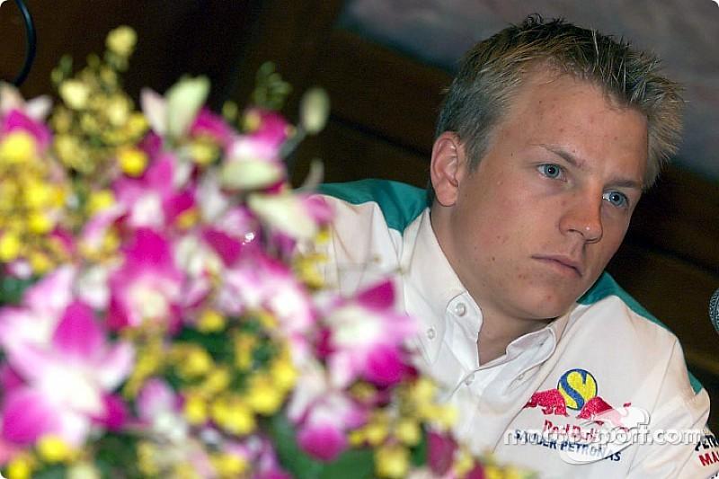 Képekben Räikkönen pályafutása a Sauberrel