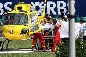 A 10 años del accidente en el que Felipe Massa volvió a nacer
