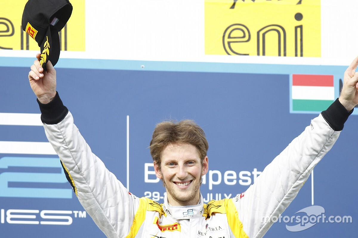 Racing life before Formula 1: Romain Grosjean