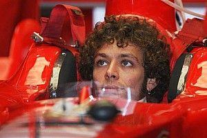 El día que Rossi rodó con el Ferrari junto a Alonso y Schumacher
