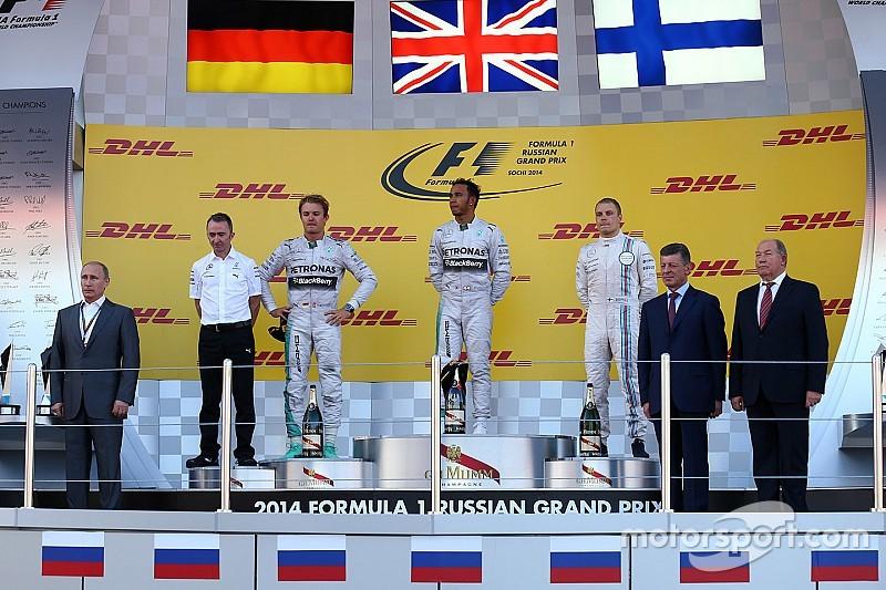 GALERIA: Relembre todos os vencedores do GP da Rússia