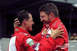 Brawn szerint Schumacher azért nyerte sorra a vb-címeket, mert csapatjátékos volt