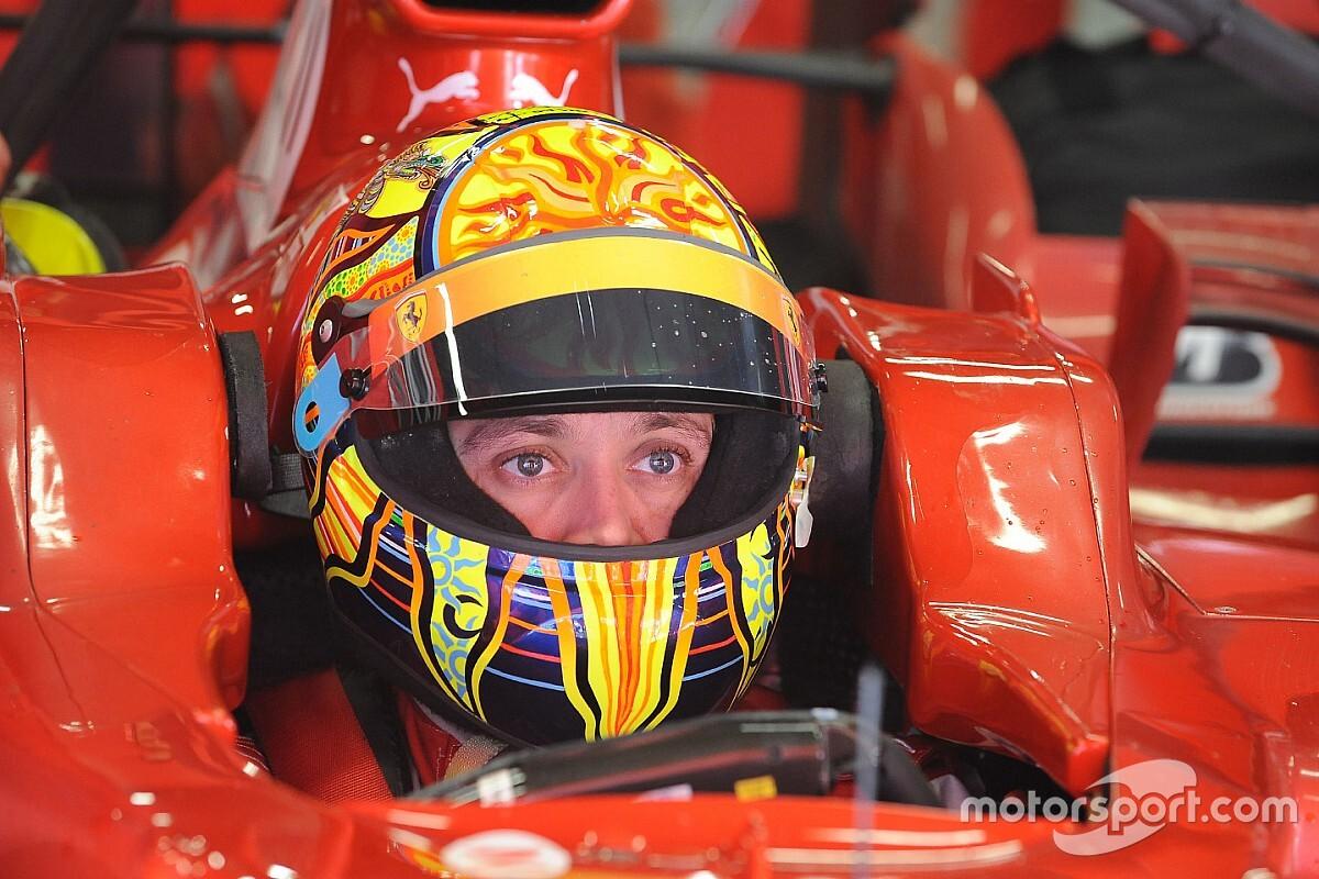 Rossi na F1: relembre quando a lenda da MotoGP guiou pela Ferrari