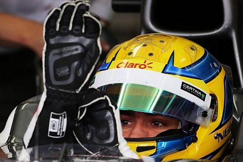 Gutierrez is tesztel a Mercedes EQ-nál