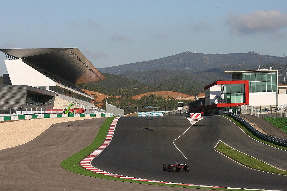 На португальской трассе Формулы 1 перестелят асфальт. За три месяца до гонки