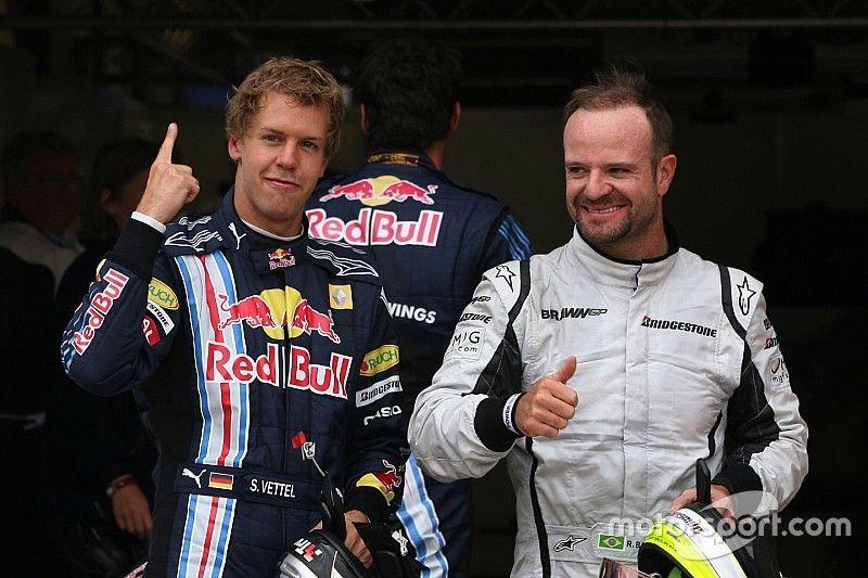 """Rosberg compara """"pobre"""" Vettel a Barrichello: """"deixando companheiro passar"""""""