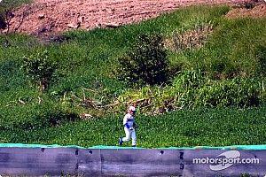 Cómo el de Norris en Rusia recordó a Montoya otro varapalo suyo