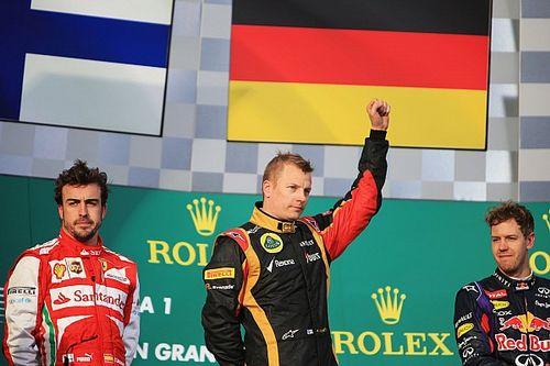 Kimi Raikkonen y su última vez como líder del mundial