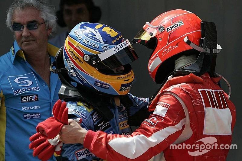 "Alonso: ""En güçlü rakibim Schumacher'di"""