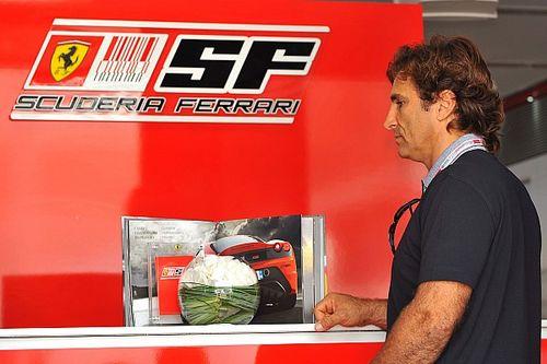 Ferrari llevará mensaje en Austria para Zanardi, quien sigue estable
