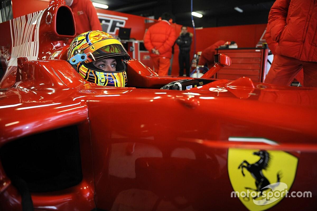 Ferrari planteó que Rossi debutase en F1 con Sauber