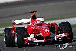 Ferrari realiza exposição em homenagem aos 50 anos de Schumacher