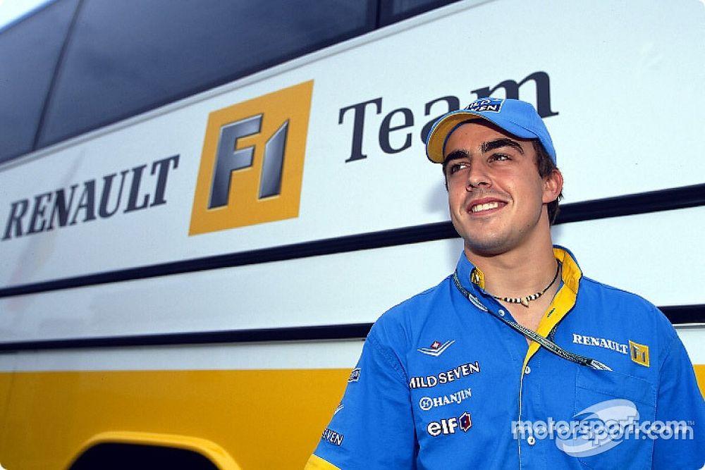 Special: Hoe het Renault F1-verhaal van Alonso begon