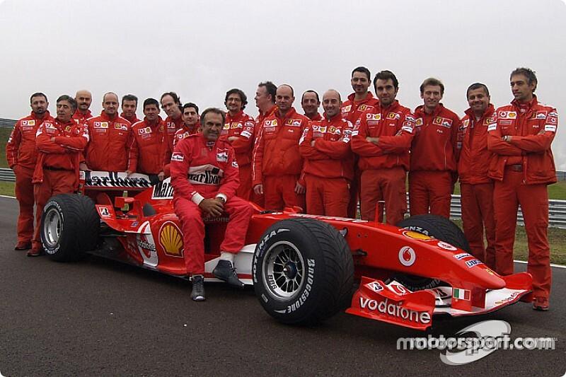 El día que Reutemann manejó la Ferrari de Schumacher