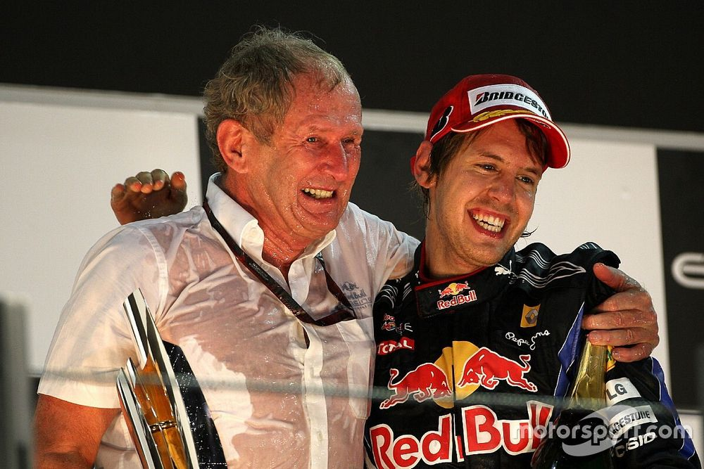 Marko confirma que conversó con Vettel sobre regreso a Red Bull