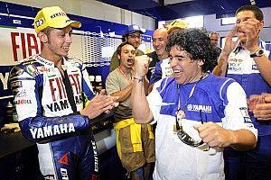 La passione di Maradona per la Formula 1 e la MotoGP