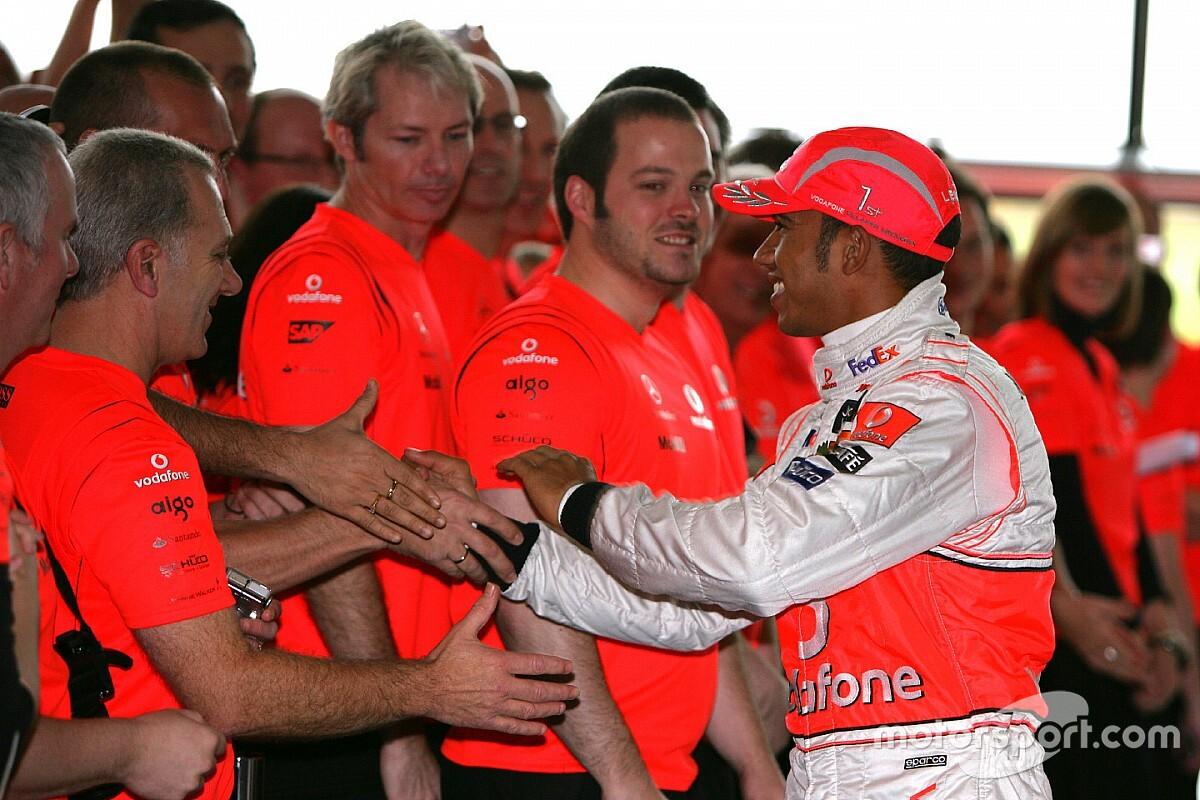 «Они меня даже не слушали». Хэмилтон вспомнил выступления за McLaren
