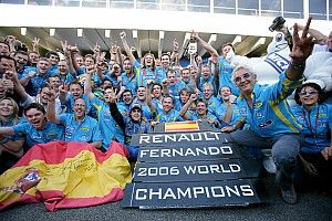 Team history and statistics: Renault