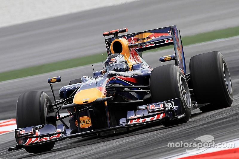 Webber possède une Red Bull victorieuse avec Vettel