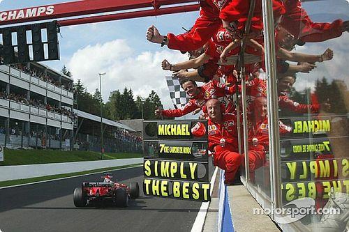 Michael Schumacher és az utolsó bajnoki év a Ferrarival: 2004