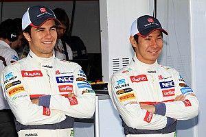 """Pérez: """"Kobayashi era el más rápido de todos"""""""