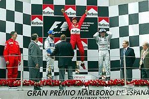 Все победители и призеры Гран При Испании с 2000 года