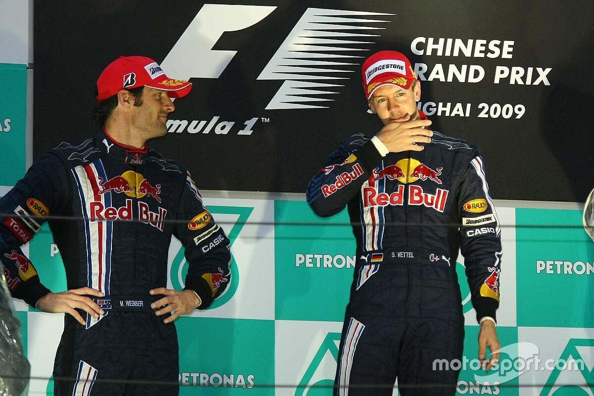 Vettel, su amuleto y un dedo cortado en China 2009
