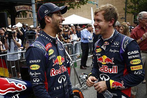 Ricciardo Ungkap Lebih Mudah Kalahkan Vettel ketimbang Verstappen