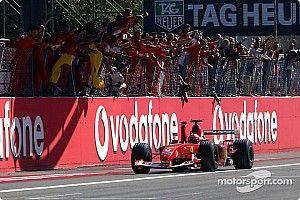In beeld: Alle Ferrari-overwinningen tijdens de Italiaanse GP