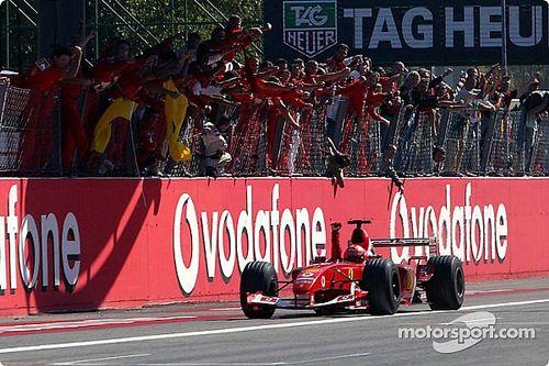 Photos - Toutes les victoires de Ferrari au GP d'Italie