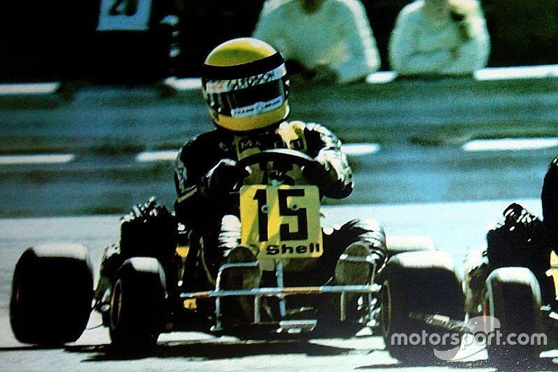 El mítico casco de Senna, explicado por su diseñador