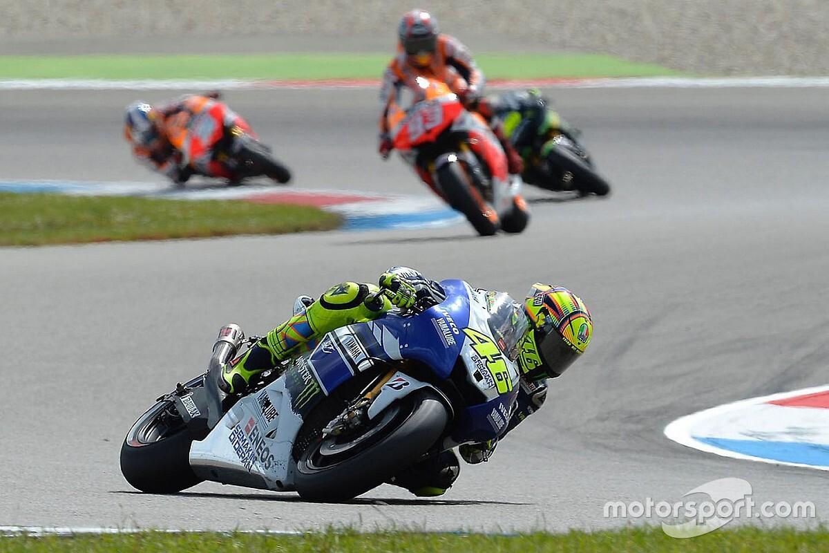 Kijktip van de dag: Rossi's eerste zege na terugkeer bij Yamaha