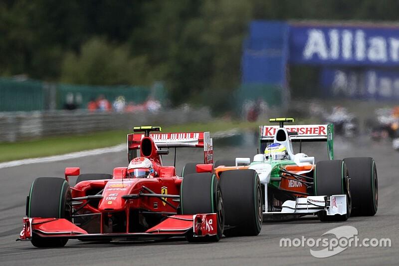 驚きの番狂わせ優勝1:ライコネンとマッサしか乗れない? F60、スパで唯一の勝利
