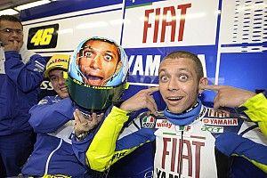 ¿Cuál es el casco favorito de Valentino Rossi?